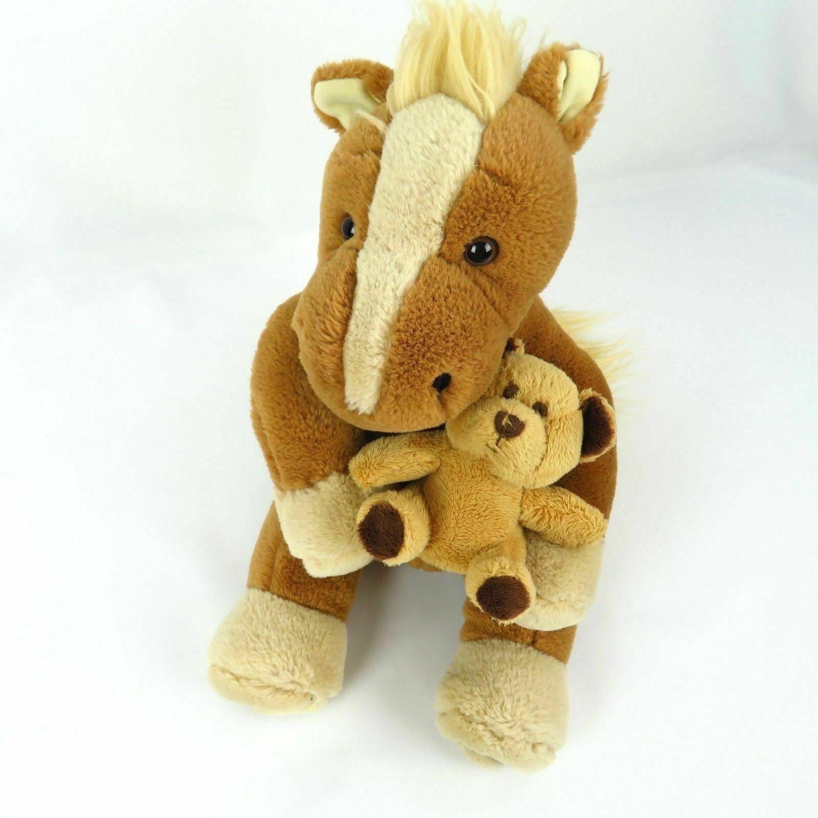 Horse Pony Plush Teddy Bear Breyer Animal Creations Stuffed Animal 2007 Toy Doll - $39.59