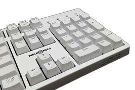 Micronics X40 Mechanical Gaming Keyboard English Korean Jixian Optical (White) image 5
