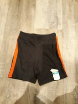 infant Boys Jumping Beans Shorts  18 mos. - NWT  lot of 2 gray & black w... - $7.66