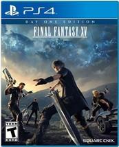 Final Fantasy XV - PlayStation 4 [video game] - $24.99