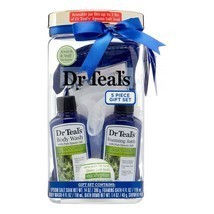 Dr. Teal's 5-Piece Relaxing Foaming Bath Gift Set with Spearmint & Eucal... - $14.84