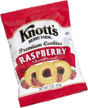 Knott's Berry Farm Raspberry Shortbread Cookie, 2-Ounce Packages (Pack o... - $59.99