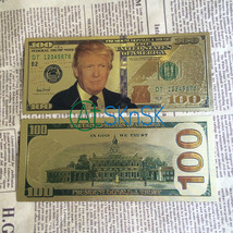 World Paper Money Collection 8pcsset 100 Banknotes USA President Donald ... - $16.00