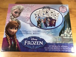 My Big Box Of Stickers Disney Frozen 3350 Stickers New Set Elsa Olaf Ann... - $15.46