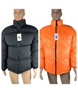 Mens Nike Jacket Size Medium Reversible Black Orange Puffer Nike Lab Goo... - $249.95