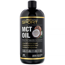 California Gold Nutrition, Sport, MCT Oil, 32 fl oz (946 ml) - $19.99+