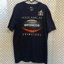 Nike Denver Broncos vs Panthers super bowl 50 tee - $26.43