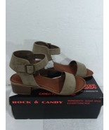 "Rock & Candy By ZIGI ""Nancie"" Sandals Taupe Women's Size 6.5 - $35.76"