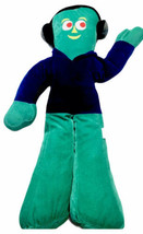 "Peek A Boo Toys Plush Gumby Hip Hop 28"" Stuffed Toy w/ Blue Hoodie & Hea... - $16.36"