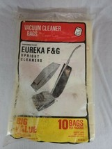 10 Genuine Eureka Vacuum Cleaner Bags Style F & G upright cleaner (s) - $9.90