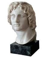 Alexander the Great Macedonian Bust Head - British Museum Replica Reprod... - $791.01