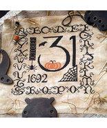 R-12 October 31st halloween cross stitch chart Rovaris   - $12.00