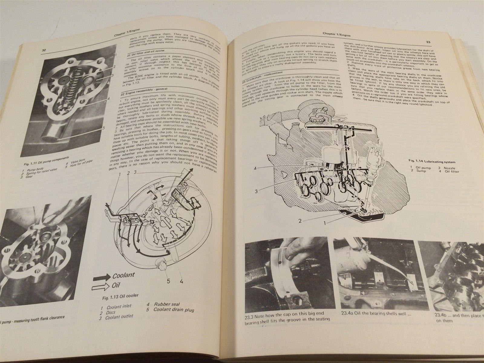 1966 to 1974 Volvo 142 144 145 Owner's Workshop Manual Haynes