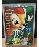 Walt Disney Diamond Edition - Bambi, DVD + Blu Ray, Brand New - $29.95
