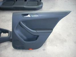2011 VW JETTA RIGHT REAR DOOR TRIM PANEL