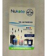 Nukote Refill Kit RF190 for Hewlett Packard HP C9362WN (92), C8765WN (94... - $7.18
