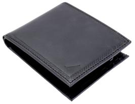 Nautica Men's Genuine Vintage Leather Credit Card ID Billfold Passcase Wallet image 4