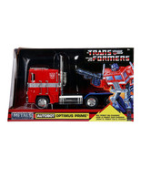 G1 Autobot Optimus Prime Truck Red with Robot on Chassis from Transforme... - $42.81