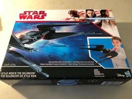 Disney Star Wars: KYLO REN'S TIE SILENCER 2017, Hasbro Brand New In Orig... - $25.69