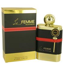 Armaf Le Femme by Armaf Eau De Parfum Spray 3.4 oz for Women - $29.70