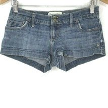 Abercrombie & Fitch Denim Blue Shorts Women Size 00 - $21.77
