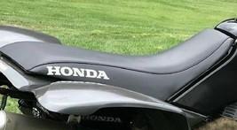 Honda TRX300EX Seat Cover In Black , 25 Colors Or 2-tone (Honda Sides) - $39.99