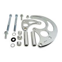JM9115C Chrome Power Steering Pump Bracket Kit for Long Water Pump image 4