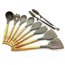 BGT Silicone Cooking Utensils 9 Pcs/Set Non-stick Home Kitchen Utensils Set - $28.05