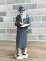 Nao by Lladro 02000345 THE RABBI Porcelain Figurine Perfect Condition - $94.05