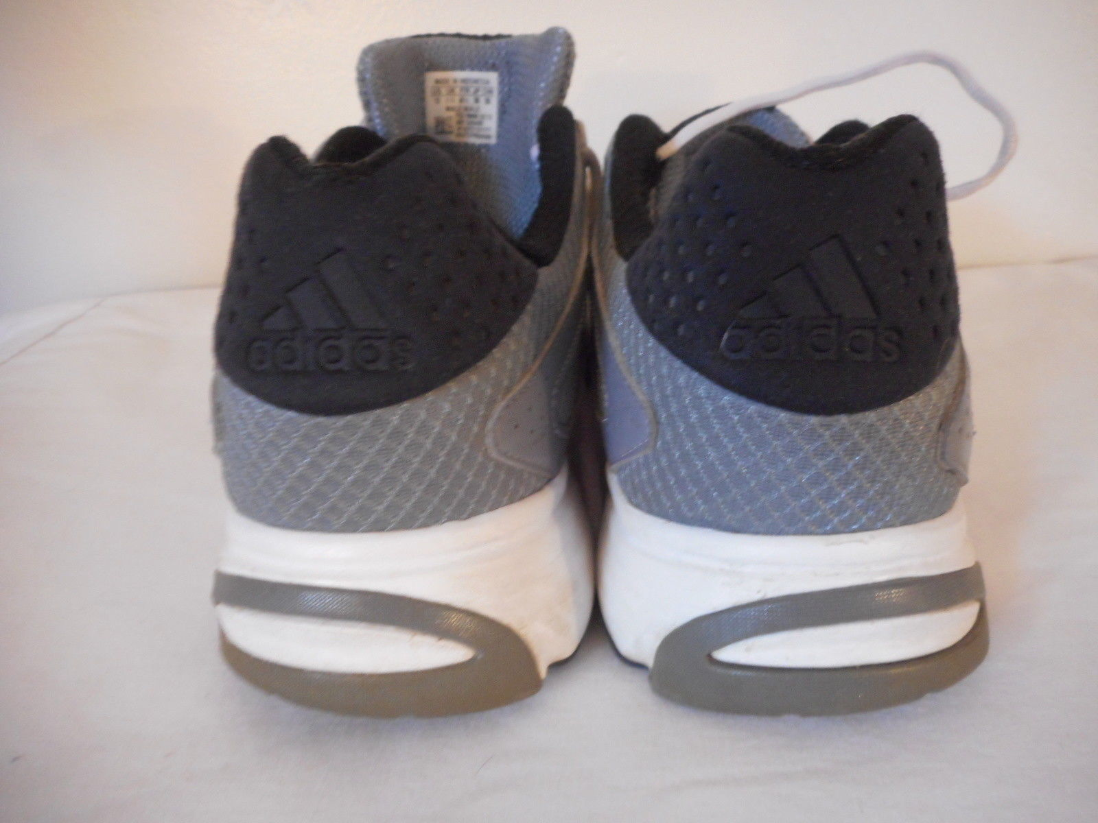 new style cb469 019bf Mens Sz 12 Adidas Shoe Grey Silver Athletic Shoe Sneaker