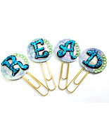 Paperclip Bookmarkers With Alphabets For Reader's Booklover's Teacher's ... - $7.95