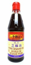 6 X Lee Kum Kee Pure Sesame Oil Large 443ml Each -From Canada - Always Fresh! - $63.47