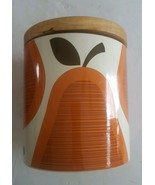 ORLA KIELY Stoneware Scribble Pear MED Canister/Storage Container Jar - $27.49