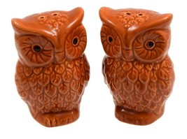 "2 pc SET of CERAMIC SALT & PEPPER SHAKERS (appox. 3.25"") OWLS - $9.89"