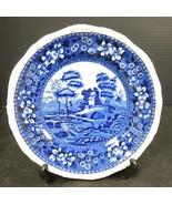 Spode Dinner Plate Blue Tower Pattern - $21.27