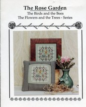 The Rose Garden Eventide Designs Cross Stitch Mini Pattern Leaflet with ... - $6.27