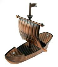 Viking Ship Die Cast Metal Collectible Pencil Sharpener - $6.75