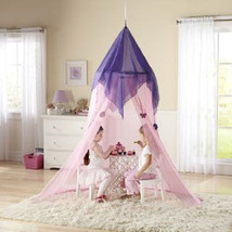 Princess Pink Canopy Girls Play Set Hang Bedroo... - $38.56