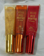 Milani Buzz Worthy Lip Gloss Assorted Lot Of Three - $9.89