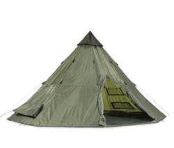 Teepee Tent 18' x 18' Waterproof Durable Great Camping Hunting Adventures Nature - $289.97