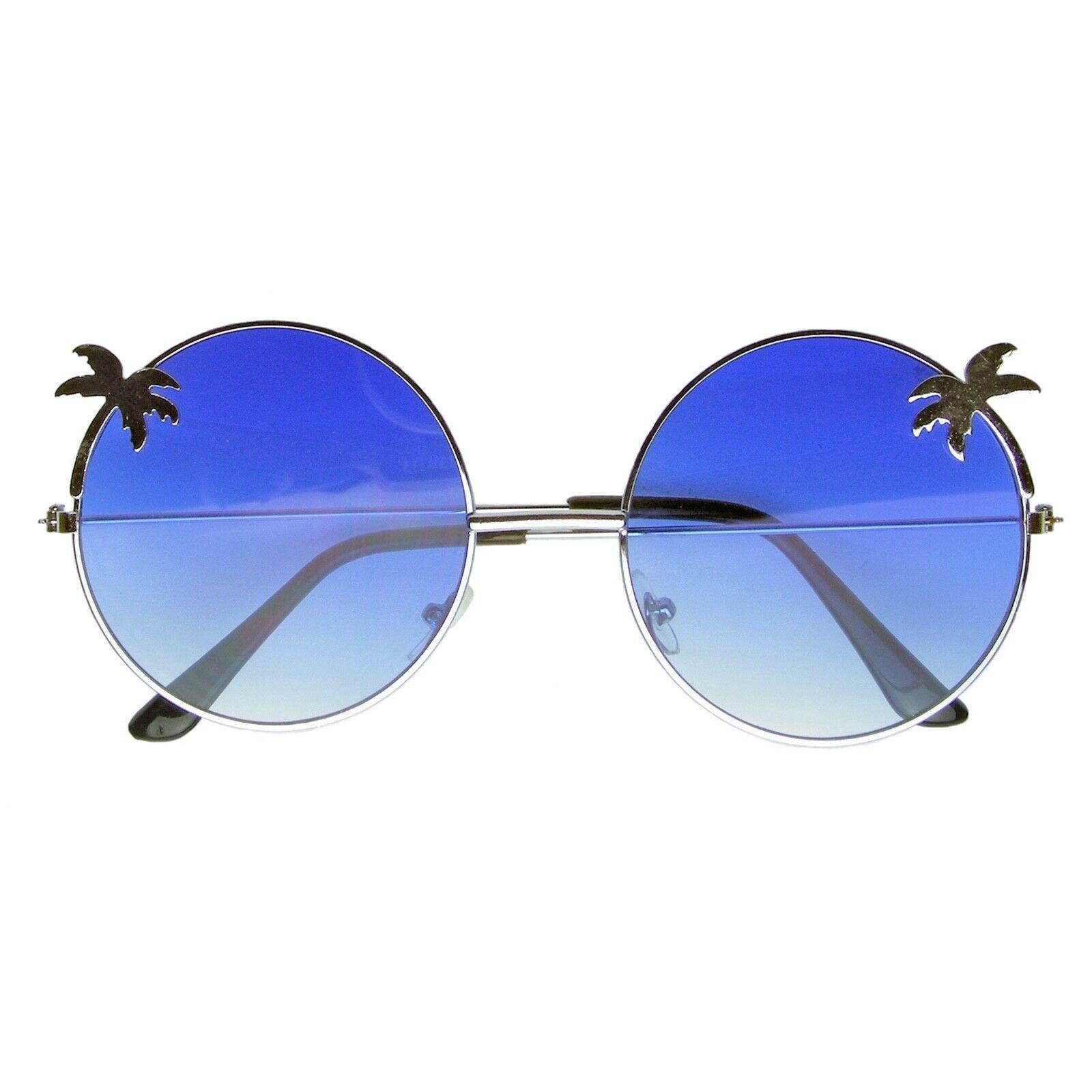 Vintage Retro Round Sun Glasses Hippie Boho Sunglasses image 4