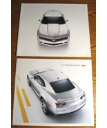 2010 & 2011 Chevrolet Camaro Prestige Brochure LOT, LT RS SS GM HUGE - $13.29