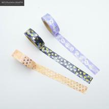 KEVIN&SASA CRAFTS® Foil WashiTape Quality Stationery Diy Scrapbooking Ph... - £3.85 GBP
