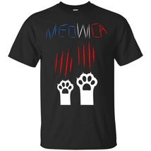 Funny Cat 4th of July Meowica America Patriot Cat T-Shirt - ₨1,622.97 INR+