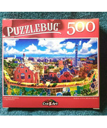 Puzzlebug 500 Piece Puzzle Park Guell, Barcelona - $9.88
