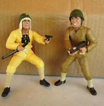 Japanese Captain & US Marine Figures - Assembled & Painted Kit - Danbury... - $59.40