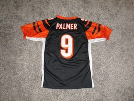 Carson Palmer Cincinnati Bengals AUTHENTIC Jersey by Reebok, Youth Large - $12.19