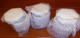 3 pack of Ceramic Flowerpot Innovative Mini Pot Planter Desktop Mini Flo... - $17.32