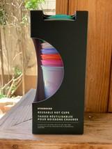 BRAND NEW - Starbucks - Reusable Hot Cups - 6 Pack Set - 2021 Summer - $38.61
