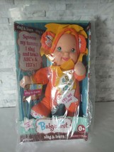 Goldberger Baby's First Sing Learn Doll ABC 1 2 3  - $25.74